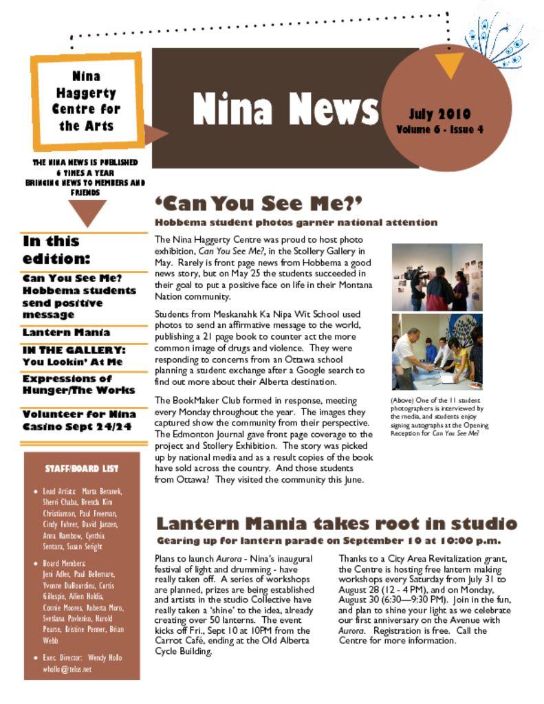 thumbnail of Nina News V6-Issue4July10