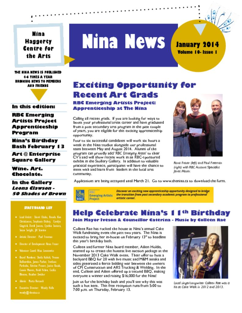 thumbnail of Nina_News_V10-Issue 1 Jan 14
