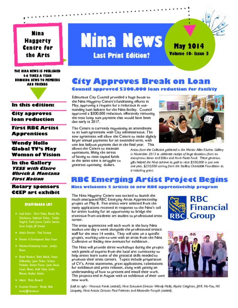 thumbnail of Nina_News_V10-Issue3-May_14