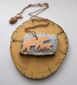 Necklace by Smithstine Copper