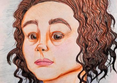 Self Portrait by Kim Casarin