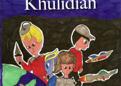 The Khulidian cover art by Laura Traverse