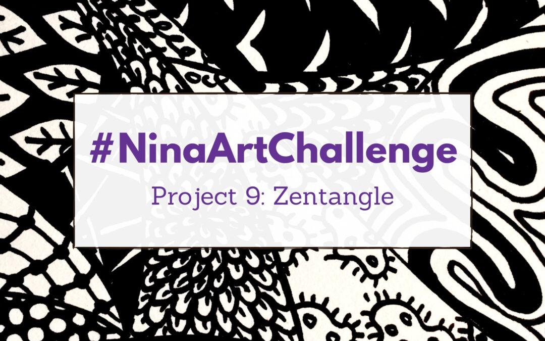 Project 9 – Zentangle