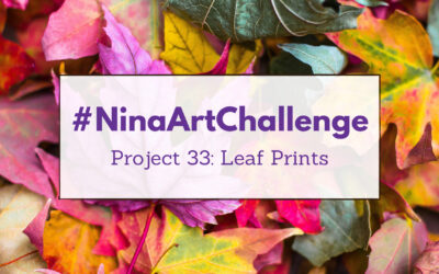 Project 33 – Leaf Printing