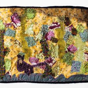 Textile collage by Montana P