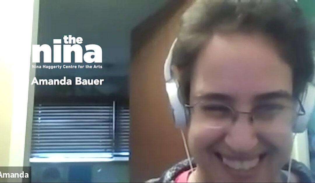 Artist Check In Amanda Bauer